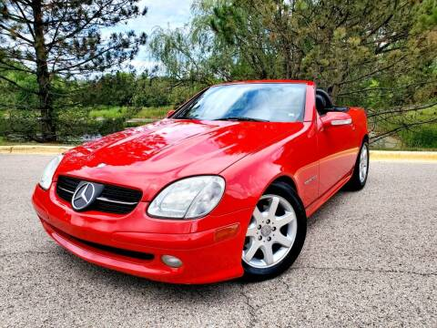 2001 Mercedes-Benz SLK for sale at Excalibur Auto Sales in Palatine IL