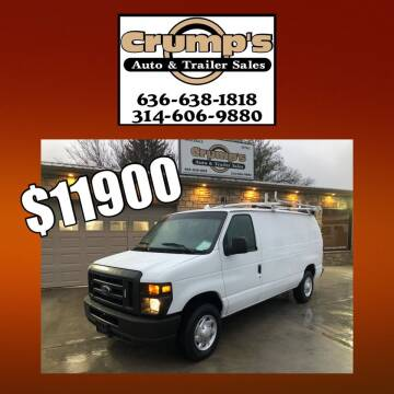 2013 Ford E-Series Cargo for sale at CRUMP'S AUTO & TRAILER SALES in Crystal City MO