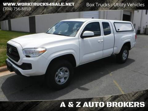 2016 Toyota Tacoma for sale at A & Z AUTO BROKERS in Charlotte NC