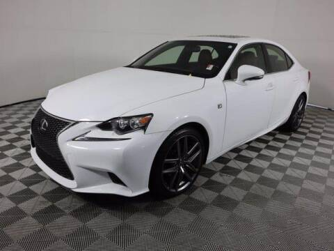 2015 Lexus IS 250 for sale at CU Carfinders in Norcross GA