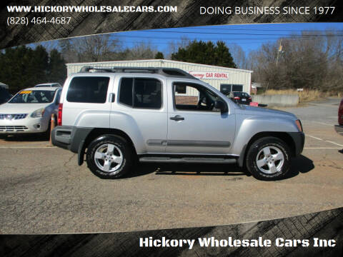 2005 Nissan Xterra for sale at Hickory Wholesale Cars Inc in Newton NC