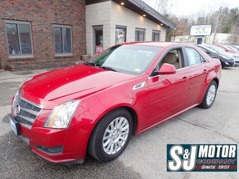 2010 Cadillac CTS for sale at S & J Motor Co Inc. in Merrimack NH