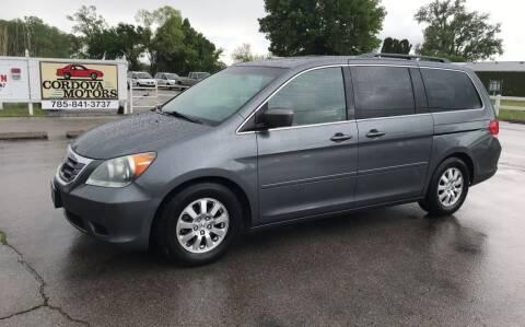 2010 Honda Odyssey for sale at Cordova Motors in Lawrence KS