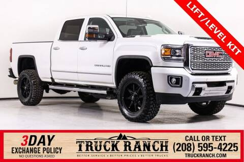 2019 GMC Sierra 2500HD for sale at Truck Ranch in Twin Falls ID