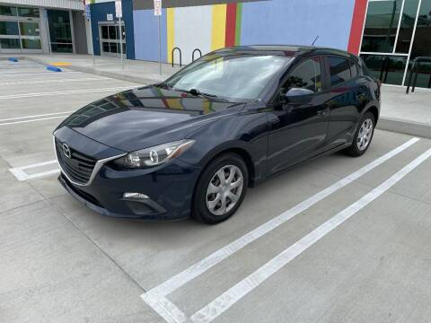 2015 Mazda MAZDA3 for sale at AS LOW PRICE INC. in Van Nuys CA