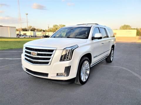 2017 Cadillac Escalade ESV for sale at Image Auto Sales in Dallas TX
