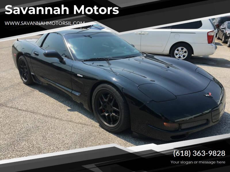 2002 Chevrolet Corvette for sale at Savannah Motors in Cahokia IL