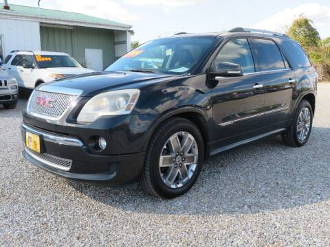 2011 GMC Acadia for sale at Low Cost Cars in Circleville OH