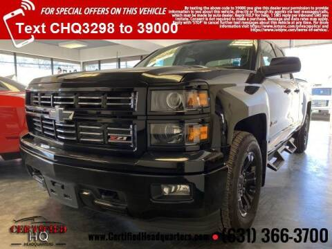2015 Chevrolet Silverado 1500 for sale at CERTIFIED HEADQUARTERS in St James NY