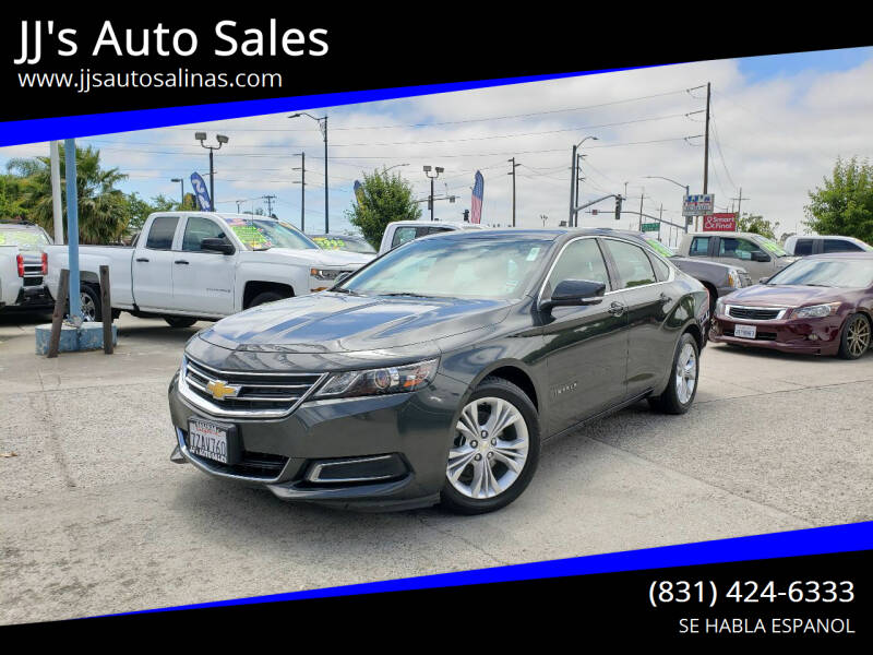 2015 Chevrolet Impala for sale at JJ's Auto Sales in Salinas CA