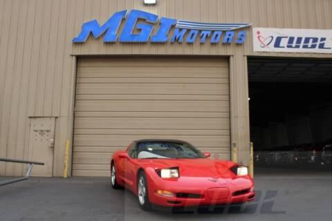 2000 Chevrolet Corvette for sale at MGI Motors in Sacramento CA