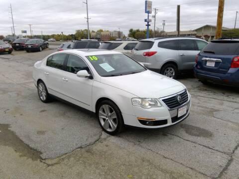 2010 Volkswagen Passat for sale at Regency Motors Inc in Davenport IA
