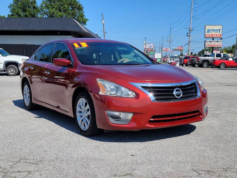2013 Nissan Altima for sale at AutoMart East Ridge in Chattanooga TN