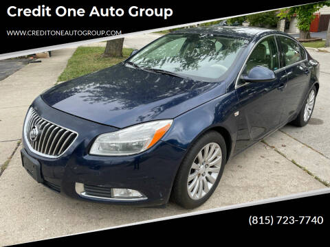 2011 Buick Regal for sale at Credit One Auto Group in Joliet IL