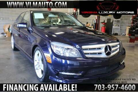 2011 Mercedes-Benz C-Class for sale at Used Imports Auto - Virginia Luxury Motors in Chantilly GA