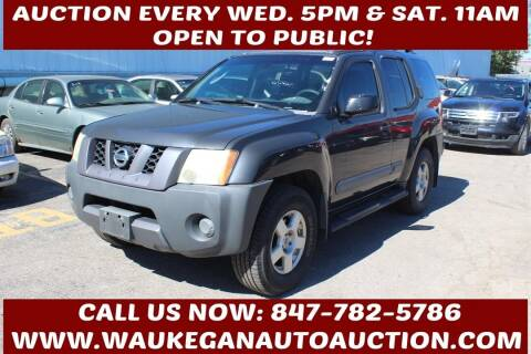 2006 Nissan Xterra for sale at Waukegan Auto Auction in Waukegan IL