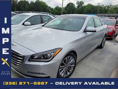 2017 Genesis G80 for sale at Impex Auto Sales in Greensboro NC