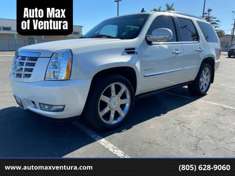 2011 Cadillac Escalade for sale at Auto Max of Ventura in Ventura CA