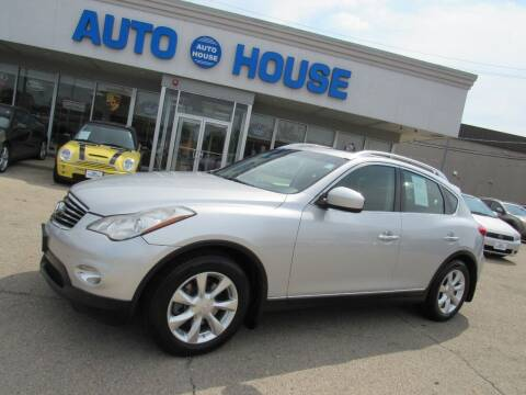 2009 Infiniti EX35 for sale at Auto House Motors in Downers Grove IL