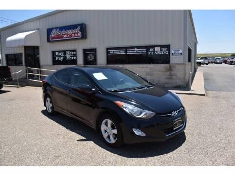 2012 Hyundai Elantra for sale at Chaparral Motors in Lubbock TX