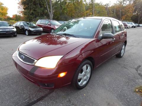 2007 Ford Focus for sale at PARAGON AUTO SALES in Portage MI