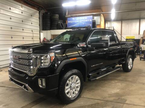 2020 GMC Sierra 2500HD for sale at T James Motorsports in Gibsonia PA