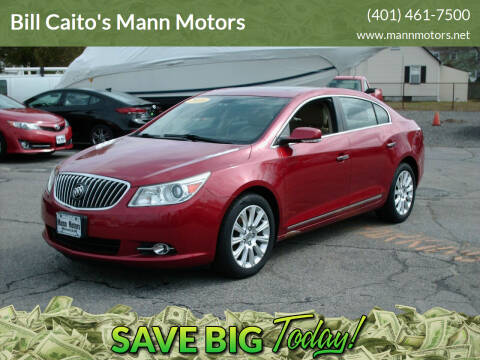 2013 Buick LaCrosse for sale at Bill Caito's Mann Motors in Warwick RI