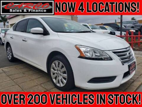 2015 Nissan Sentra for sale at CARCO SALES & FINANCE - CARCO OF POWAY in Poway CA
