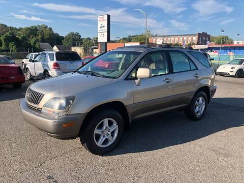 2000 Lexus RX 300 for sale at LINDER'S AUTO SALES in Gastonia NC