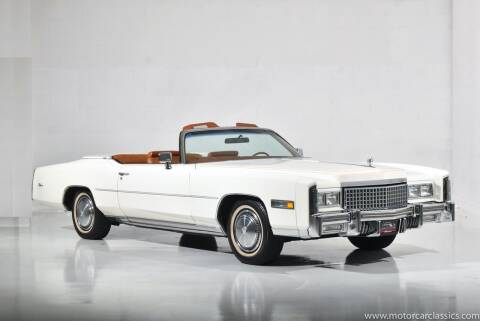 1975 Cadillac Eldorado for sale at Motorcar Classics in Farmingdale NY