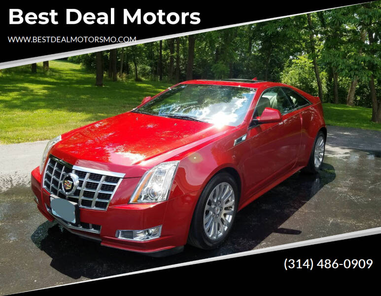 2014 Cadillac CTS for sale at Best Deal Motors in Saint Charles MO
