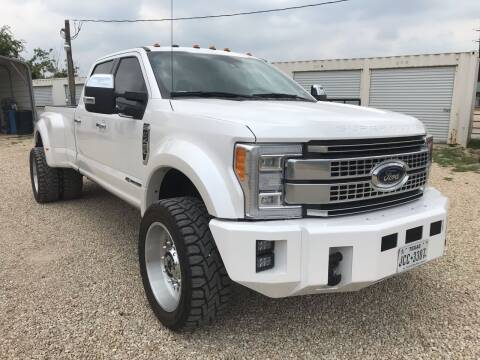 2017 Ford F-450 for sale at Mafia Motors in Boerne TX