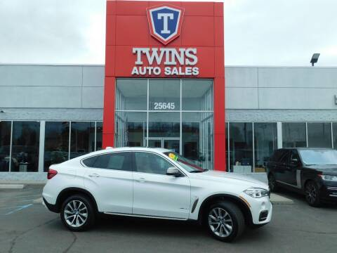 2018 BMW X6 for sale at Twins Auto Sales Inc Redford 1 in Redford MI