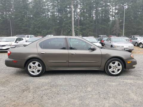 2001 Infiniti I30 for sale at WILSON MOTORS in Spanaway WA