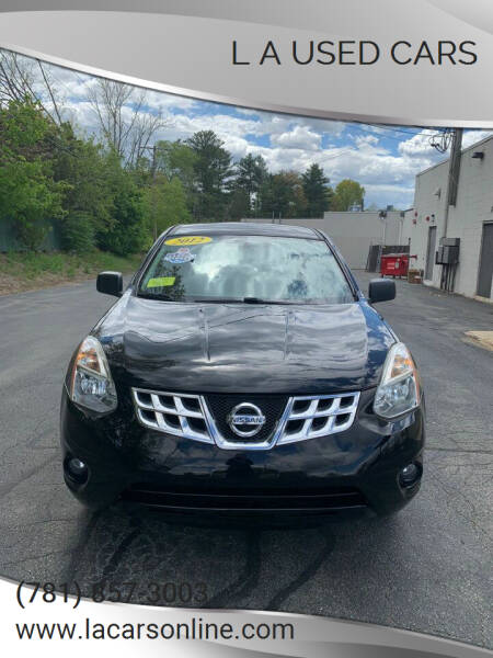 2012 Nissan Rogue for sale at L A Used Cars in Abington MA