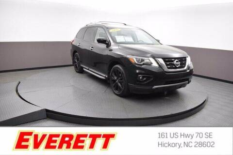 2018 Nissan Pathfinder for sale at Everett Chevrolet Buick GMC in Hickory NC