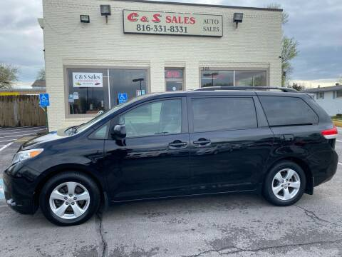 2013 Toyota Sienna for sale at C & S SALES in Belton MO