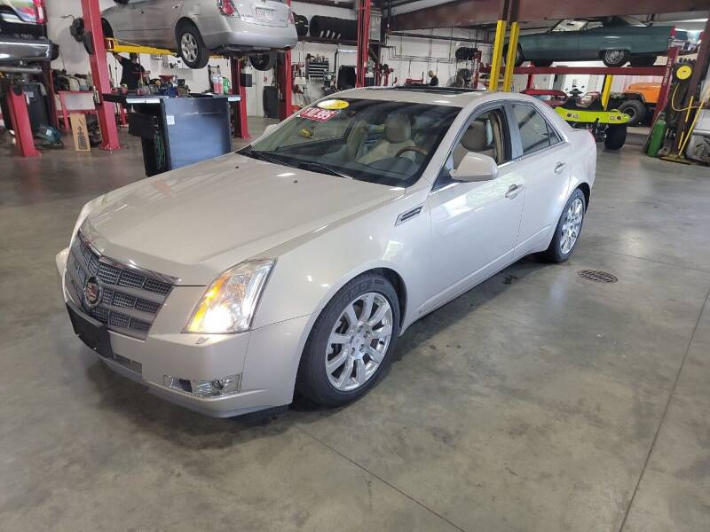 2009 Cadillac CTS for sale at Hometown Automotive Service & Sales in Holliston MA
