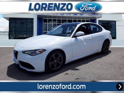 2017 Alfa Romeo Giulia for sale at Lorenzo Ford in Homestead FL