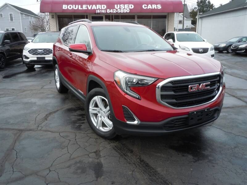 2018 GMC Terrain for sale at Boulevard Used Cars in Grand Haven MI