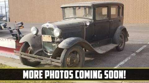 1931 Ford Model A for sale at UNIQUE SPECIALTY & CLASSICS in Mankato MN