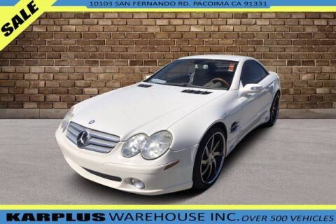 2007 Mercedes-Benz SL-Class for sale at Karplus Warehouse in Pacoima CA
