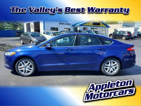 2013 Ford Fusion for sale at Appleton Motorcars Sales & Service in Appleton WI