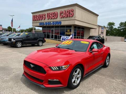 2015 Ford Mustang for sale at Mario's Used Cars in Houston TX