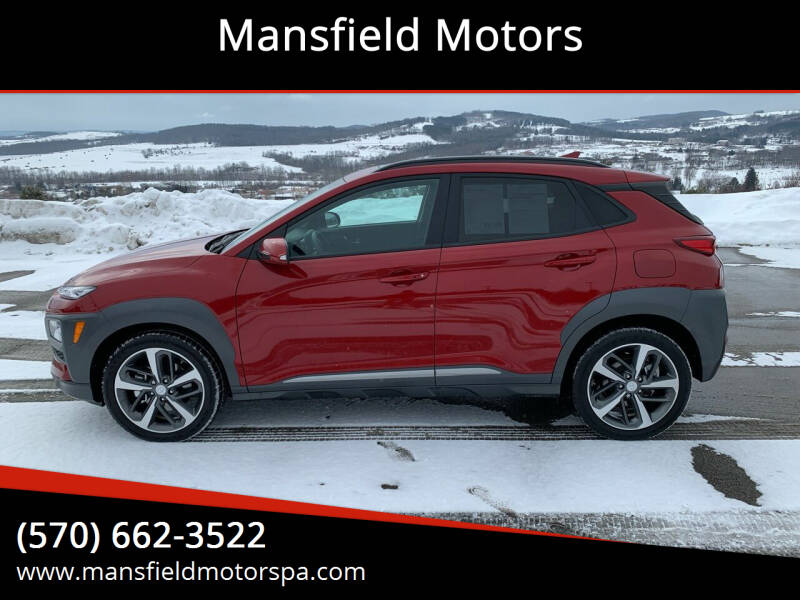 2021 Hyundai Kona for sale at Mansfield Motors in Mansfield PA
