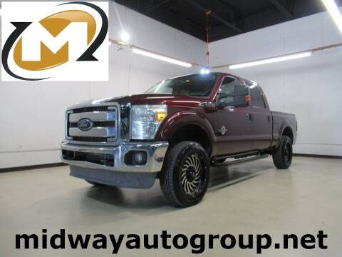 2012 Ford F-250 Super Duty for sale at Midway Auto Group in Addison TX