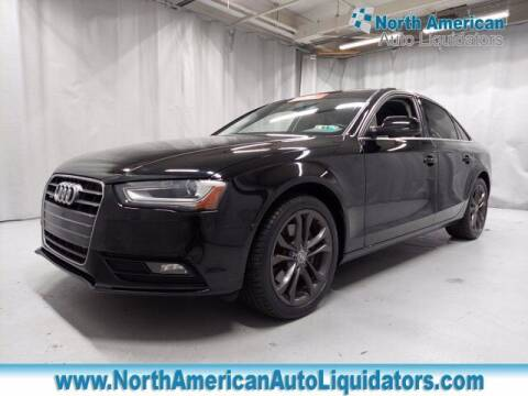 2013 Audi A4 for sale at North American Auto Liquidators in Essington PA