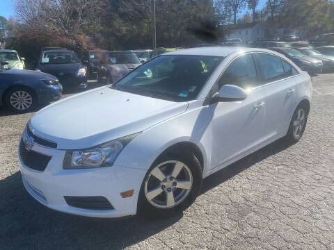 2013 Chevrolet Cruze for sale at Car Online in Roswell GA