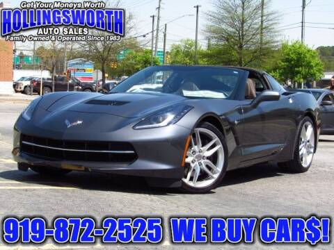 2014 Chevrolet Corvette for sale at Hollingsworth Auto Sales in Raleigh NC
