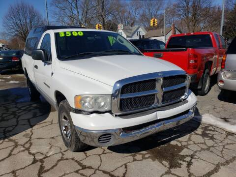 2005 Dodge Ram Pickup 1500 for sale at D & D All American Auto Sales in Mt Clemens MI